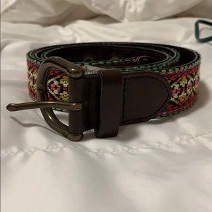 Colorful Print Belt
